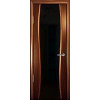 Межкомнатная шпонированная дверь Стиль остекленная
