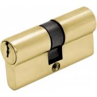 Цилиндр ключ/ключ  (30+30) S 60 Cr золото