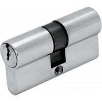 Цилиндр ключ/ключ  (30+30) S 60 Cr хром