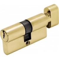 Цилиндр ключ/завертка  (30+30) S 60 Cr золото