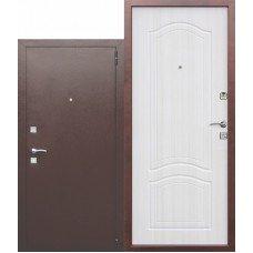 Дверь входная металлическая Доминанта Белый Ясень
