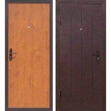 Дверь входная золотистый дуб  Стройгост 5-1