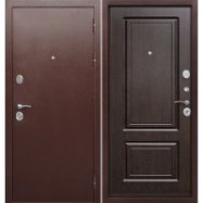 Дверь входная металлическая Толстяк 10 см Венге