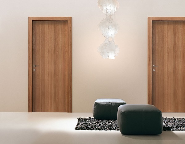 финские двери орех